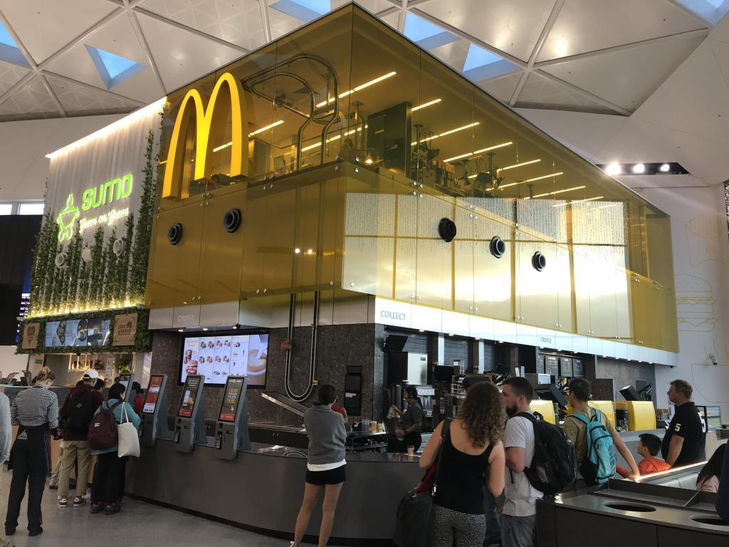 McDonalds Has Unveiled Its New Kitchen In The Sky Design