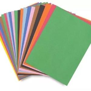 """Construction Paper, Asst Colors, 12"""" x 18"""""""