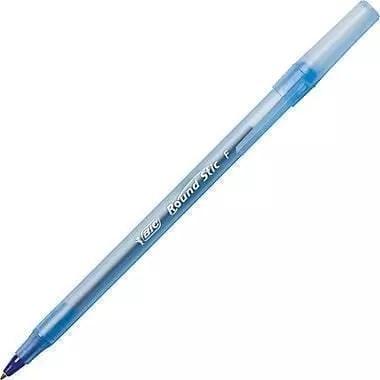 Pen, blue round bic