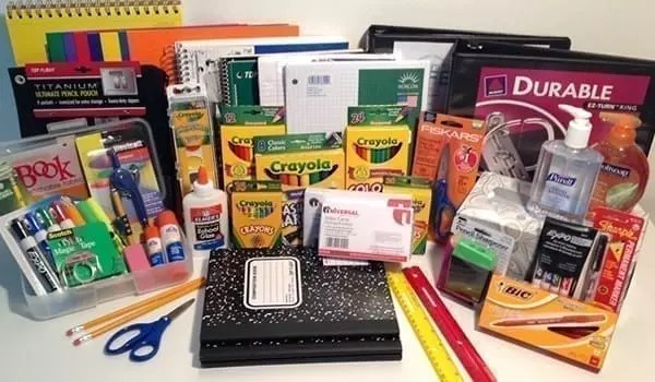 prepackaged school supply pack kit wernecke 6th grade last name n-z