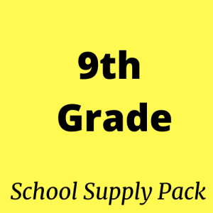 9th grade school supply pack for sale
