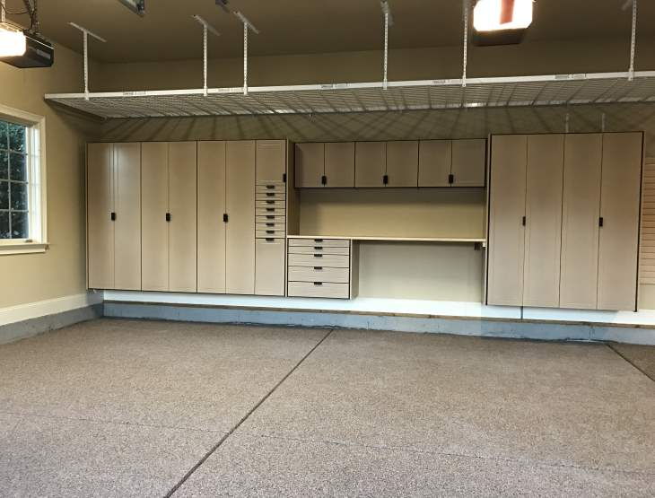 Make the most of your garage space with our overhead storage racks that hold up to 1000 lbs. Overhead Garage Storage Garage Storage Shelves Charlotte Nc