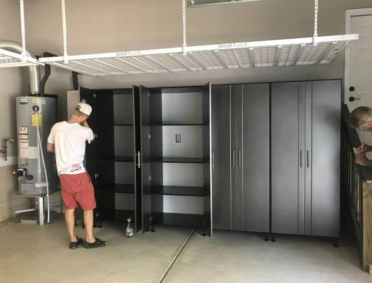 Shelves We offer shelves in three different sizes maximum capacities of up to 125 lbs. Overhead Garage Storage Garage Storage Shelves Charlotte Nc