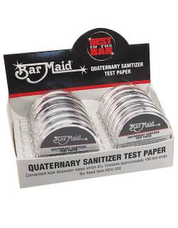 Bar Maid DIS-202 Sanitizer Test Strips