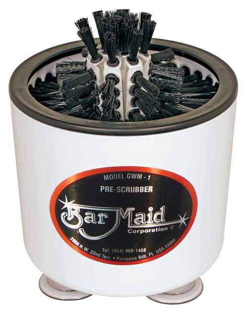 glass washer pre scrubber - Bar Glass Washer