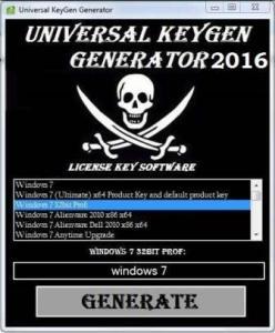 Universal Keygen Generator Mac