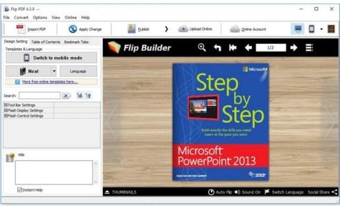 FlipBuilder Flip PDF Professional Serial Key