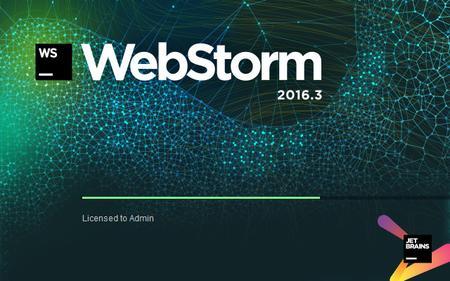 JetBrains WebStorm 2016.3 Crack