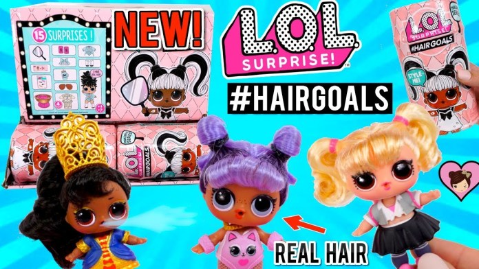 NEW LOL Surprise #Hairgoals FULL Case Unboxing – 15 Surprises Dolls with Real Hair