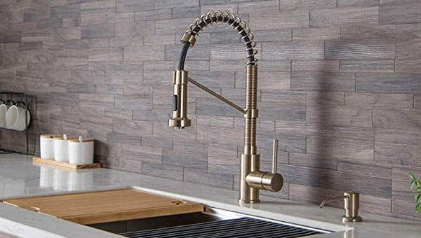 best high end luxury kitchen faucets in