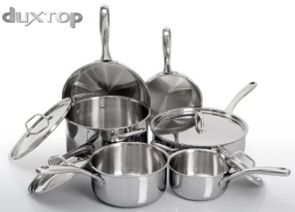 induction cooking pans,duxtop whole clad