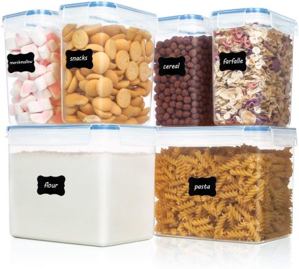 best and cheap food storage plastic containers