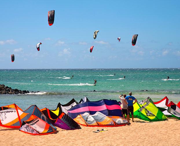 Kitebording in Maui - Hawai