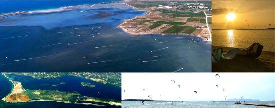 The Stagnone Kite Spot