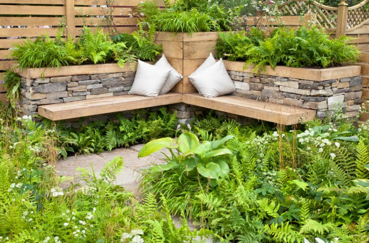 Unusual Country Furniture With Your Own Hands Use Natural Stone Concrete And Turf Best Landscaping Ideas
