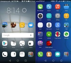 Huawei Honor 6 Launcher