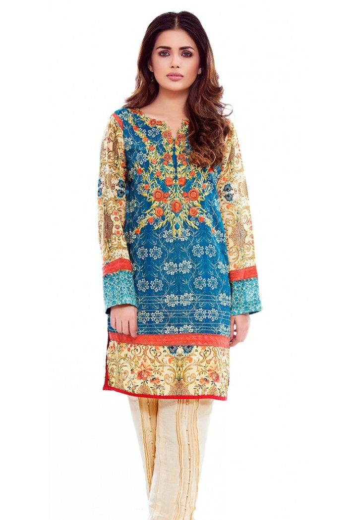 Latest Firdous Printed Lawn Summer Collection 2018 With Price