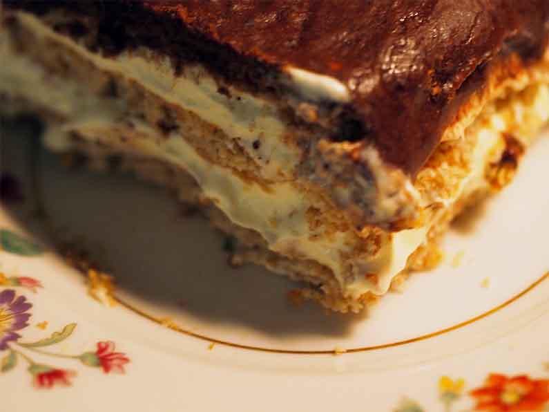 No-Bake Pudding Cake