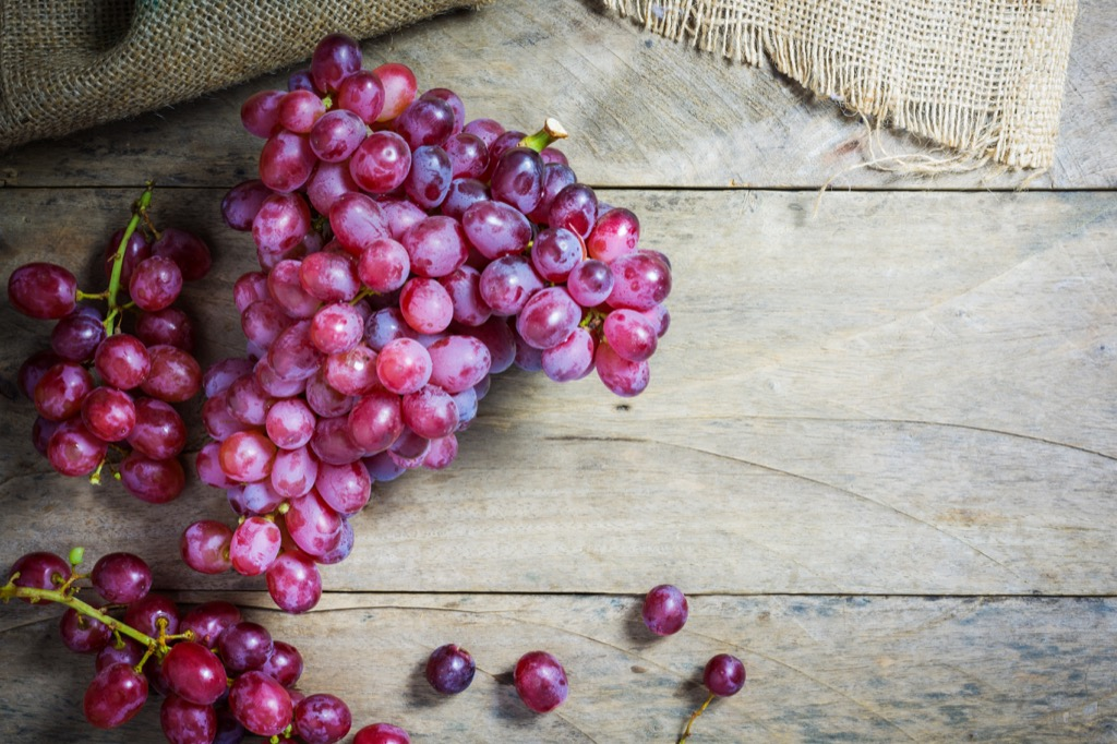 grapes on a wooden table - funniest jokes