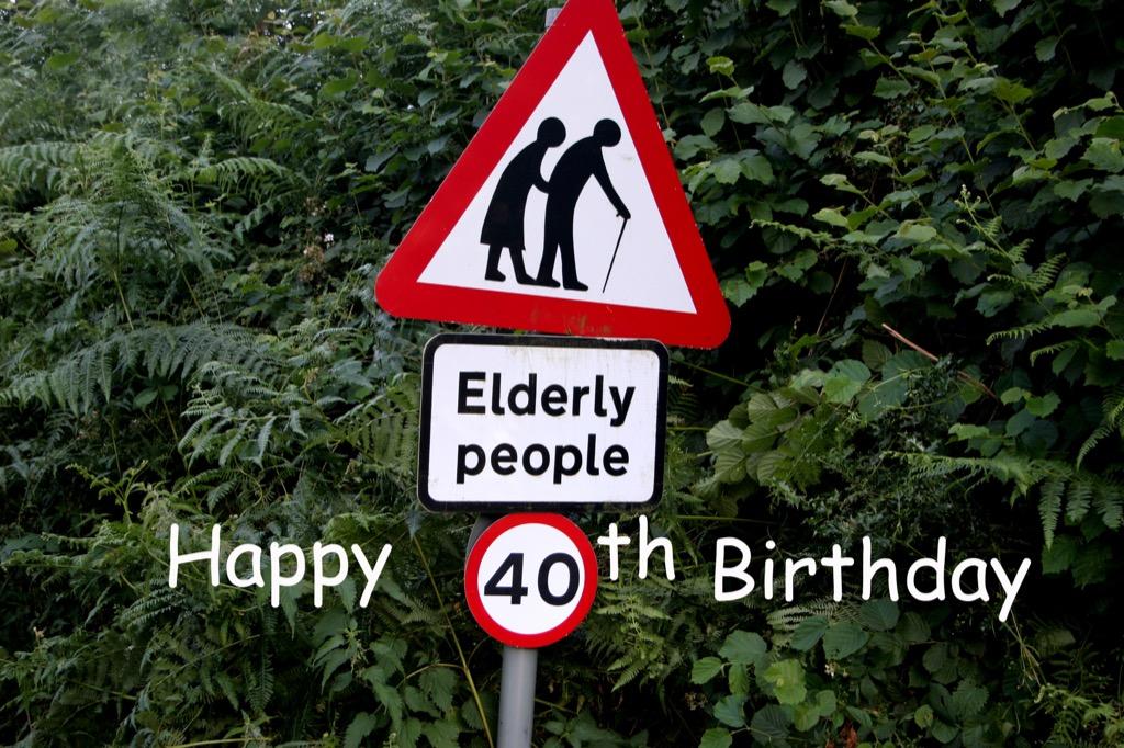 45 jokes turning years old Turning 45