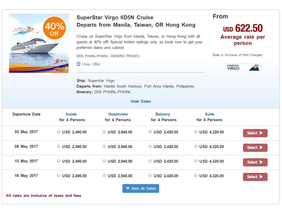 star-cruises-sample-package-online