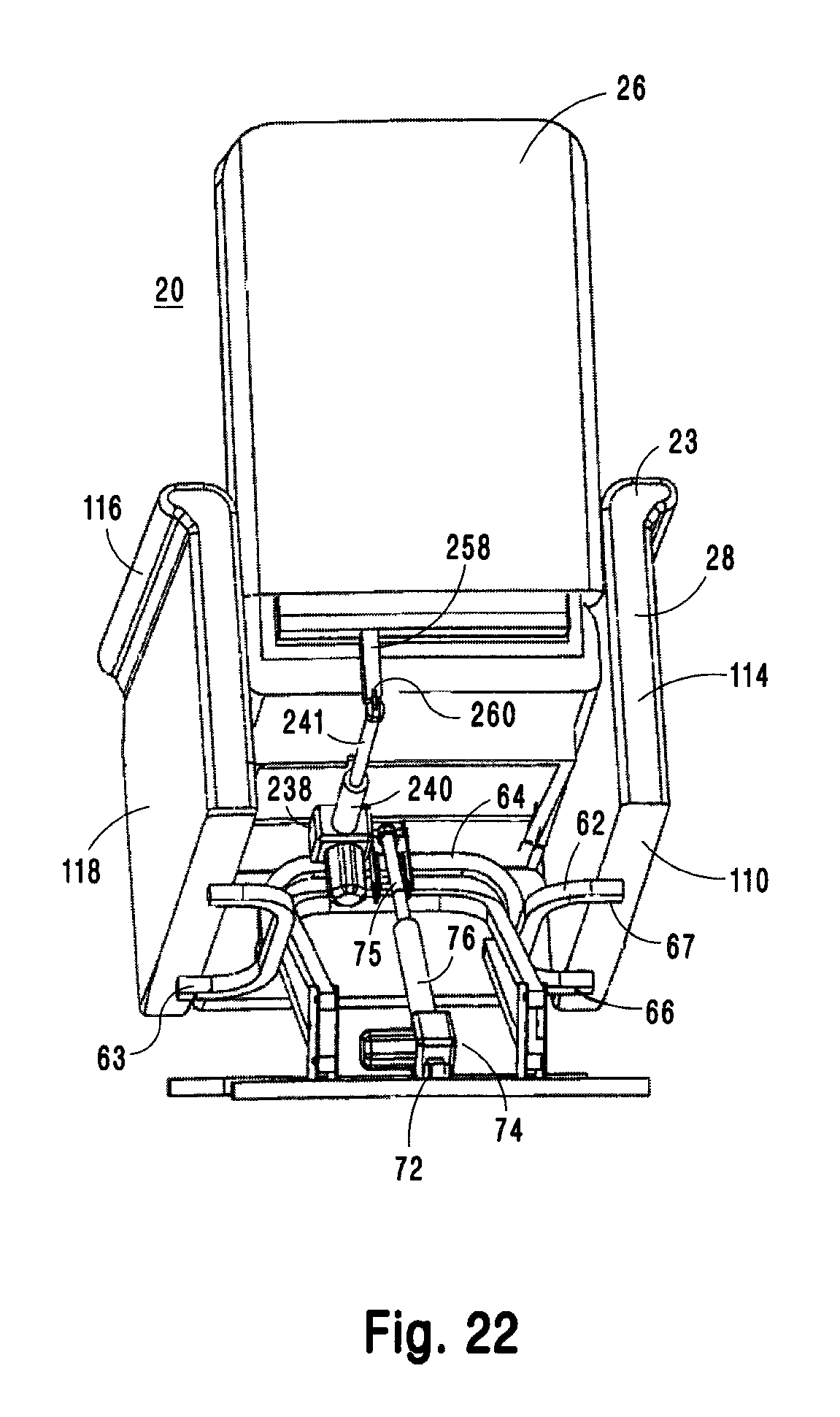 Lift Chair Mechanism
