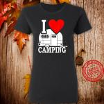 I Love Camping Geschenk Manner Campingzubehor Wohnanhanger Shirt