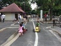 setagaya park area with kids