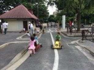 Setagaya Park (Setagaya) - Mini SL train rides, pedal race tracks and more!