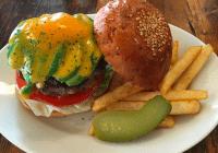 Sasa Burger Avocado cheese burger