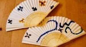 Summer Fans - 100 yen DIY Craft