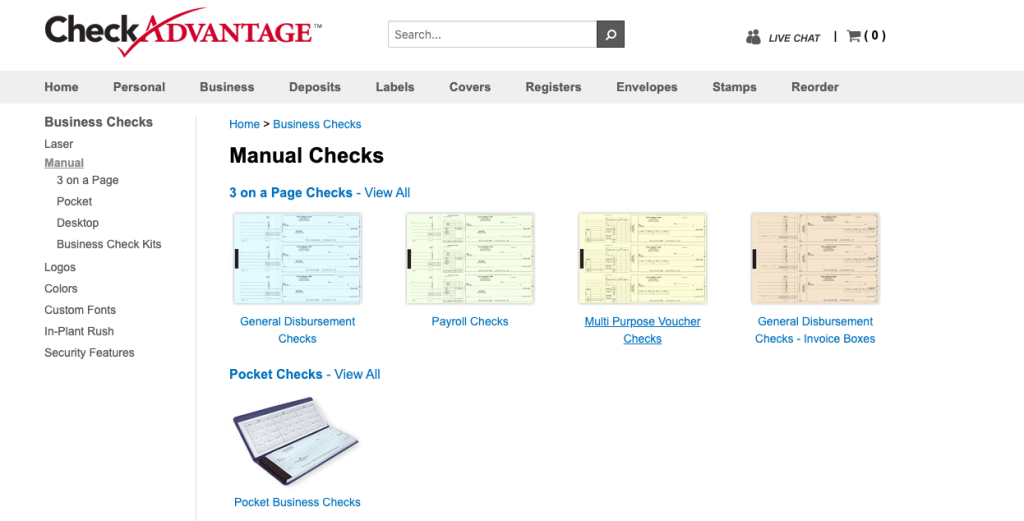 CheckAdvantage website