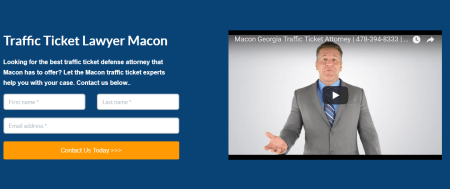 Macon Georgia Traffic Ticket Defense Attorney