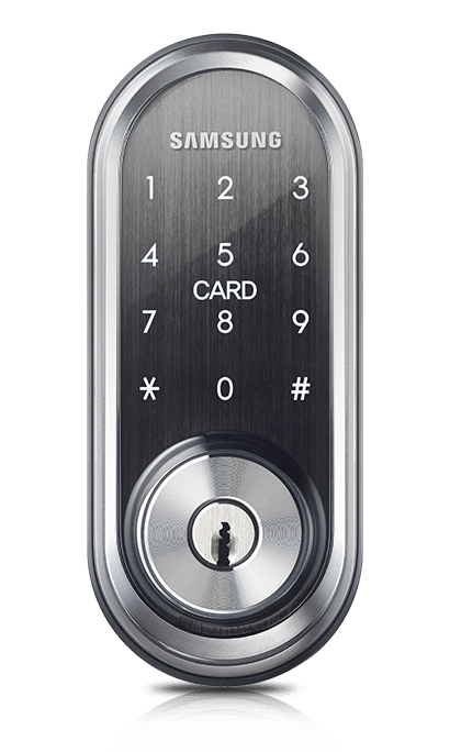 SHP-DS510 Digital Deadbolt with Mechanical Override Keys LEARN MORE