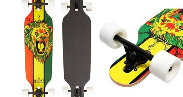 Krown Rasta Freestyle Elite Complete Longboard reviews