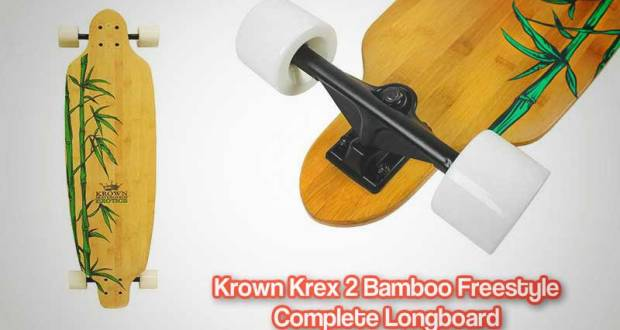 Krown Krex 2 Bamboo Freestyle Complete Longboard Review