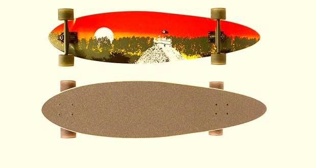 Quest 2012 Classic Longboard Skateboard Review