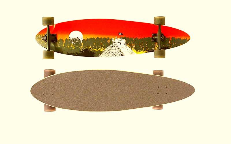 Quest 2012 Classic Longboard Skateboard Review