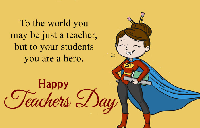 Greeting Image for Teachers