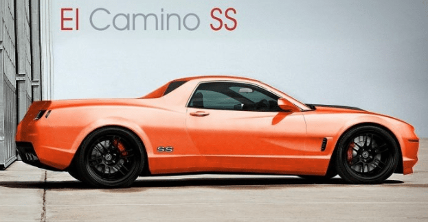 2021 Chevy El Camino Pictures
