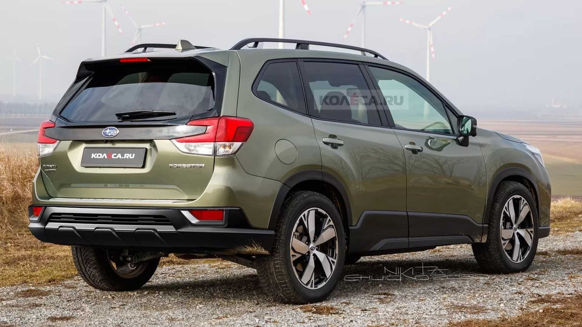 2022 Subaru Forester Facelift With Ucwords]