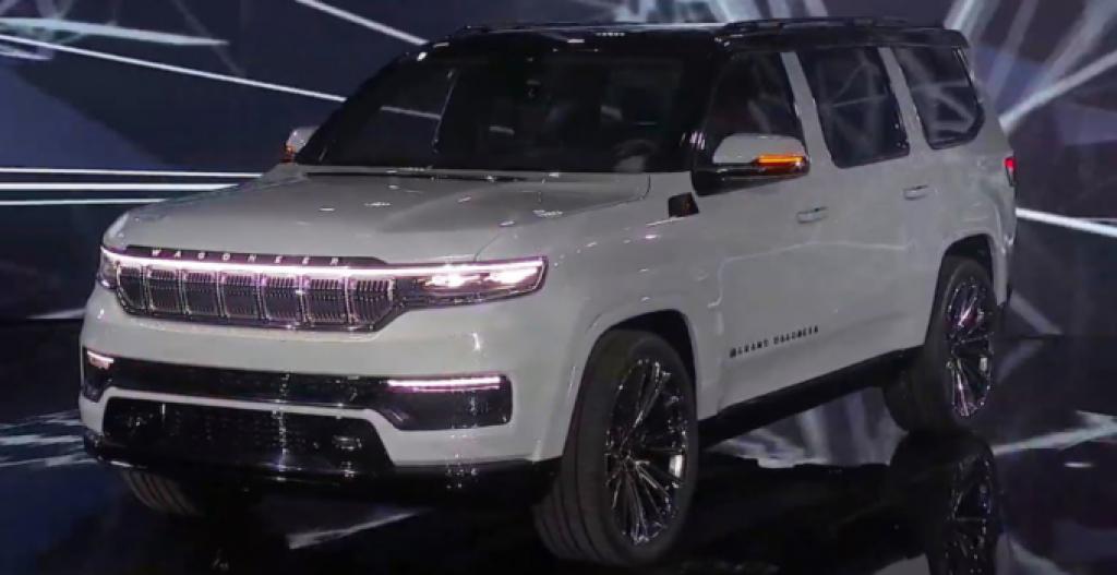 2022 Jeep Grand Cherokee Diesel Concept