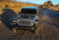 2022 Jeep Wrangler PHEV Redesign