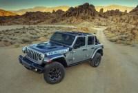 2022 Jeep Wrangler Spy Shots