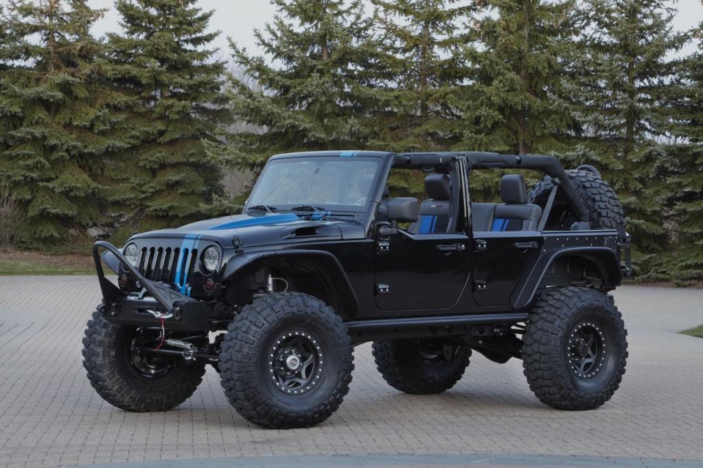 Jeep Wrangler HEMI V8 Spy Shots
