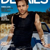 CHRIS PINE IN DATAILS MAGAZINE COVER