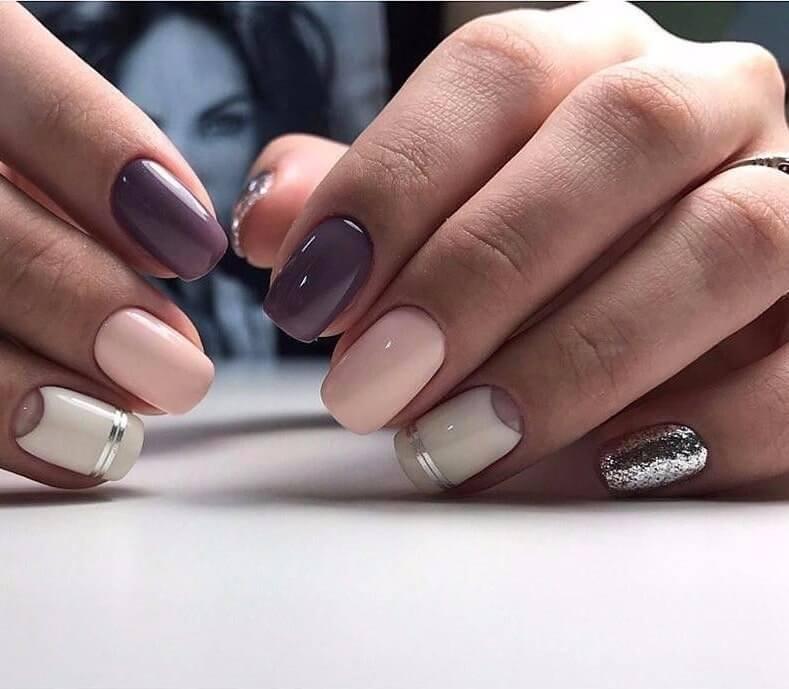 несложный дизайн ногтей 5