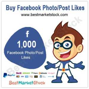 1000 Facebook Photo Post Likes