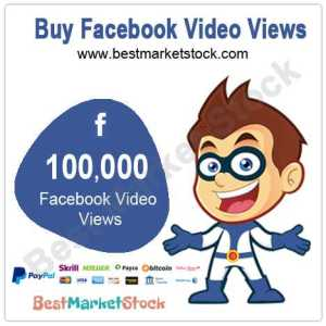 100000 Facebook Video Views
