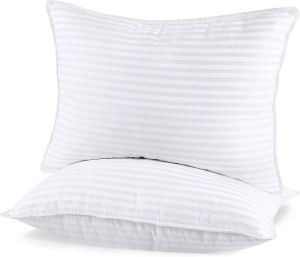 Utopia Bedding Gusseted Quilted Microfiber Fill Queen Pillows